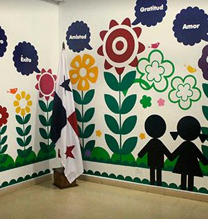 Jardin de ni os centro preescolar for Decoracion para jardin de ninos